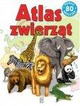 Atlas zwierząt. Ponad 80 naklejek