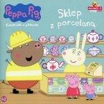 Peppa Pig. Książeczki z półeczki. Sklep z porcelaną