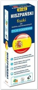 Hiszpański fiszki dla średnio zaawansowanych ŻYCIE CODZIENNE B1-B2 +CD (1000 fiszek + CD-ROM MP3 z programem i nagraniami + Kolorowe przegródki)
