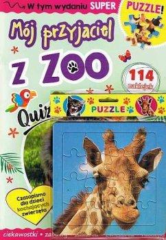 Mój przyjaciel z zoo + puzzle