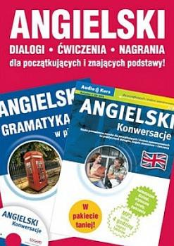 Angielski. Pakiet Gramatyka w pigułce + Konwersacje