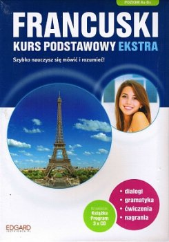 Francuski. Kurs podstawowy ekstra wydanie