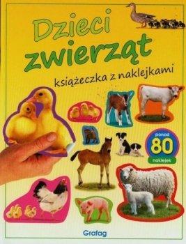 Dzieci zwierząt. Książeczka z naklejkami