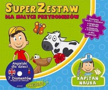 SuperZestaw dla małych przyrodników + CD