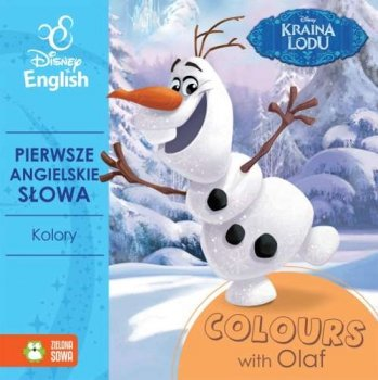 Kraina Lodu. Colours with Olaf. Kolory. Disney English