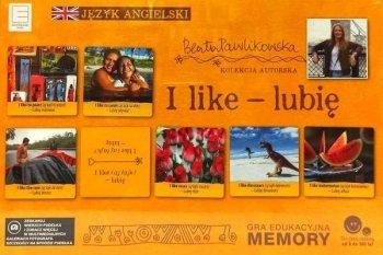 I like – lubię. Gra edukacyjna Memory językowe