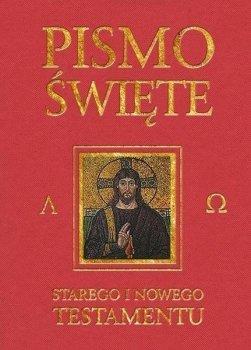 Pismo Święte Starego i Nowego Testamentu. Bordowe