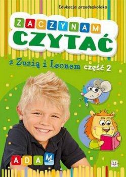 Zaczynam czytać z Zuzią i Leonem. Edukacja przedszkolaka 2
