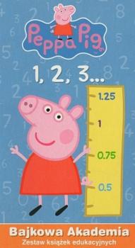 1,2,3. Bajkowa akademia. Peppa Pig