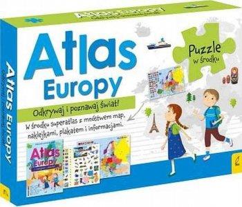 Atlas Europy. Odkrywaj i poznawaj