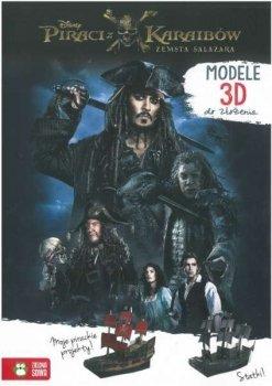 Piraci z Karaibów. Zemsta Salazara. Modele 3D do złożenia