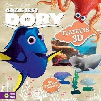 Disney. Gdzie jest Dory? Modele 3D