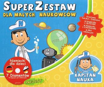 Kapitan Nauka. Super Zestaw dla małych naukowców