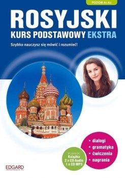 Rosyjski. Kurs podstawowy ekstra + 3 CD