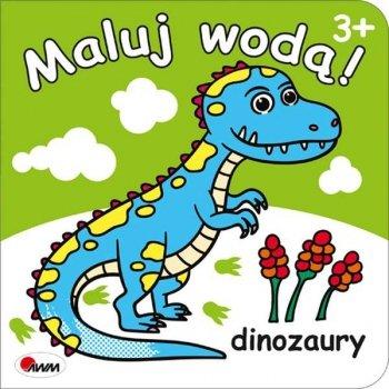 Dinozaury. Maluj wodą!