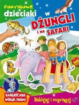 Pomysłowe dzieciaki w dżungli i na safari