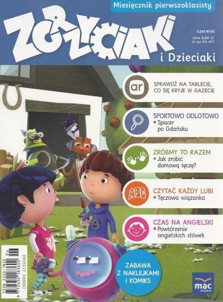 Zgrzyciaki i dzieciaki. Miesięcznik pierwszoklasisty. 06/2016