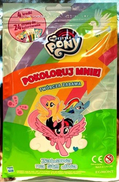 Zabawa na sto dwa. My Little Pony