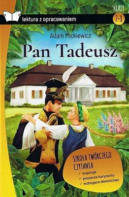 Pan Tadeusz. Oprawa twarda. Z opracowaniem