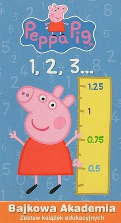 Peppa Pig 1,2,3. Bajkowa akademia