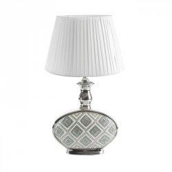 SAMY Lampa Stojąca  31X18X67 Srebrny+Niebieski