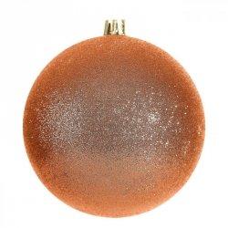 Bombka świąteczna BLINK 10CM Pomarańcz