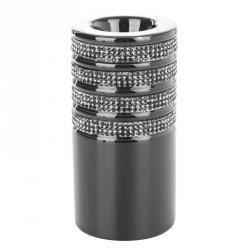 Świecznik dekoracyjny OSKAR1 7.5X7.5X15 Czarny