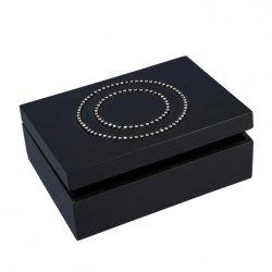 Pudełko DIANA 01 Czarne 20X14X7
