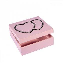 Pudełko LOVE 01 Róż 16X16X6