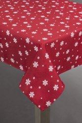 Obrus CARLY Czerwono Biały 140X180