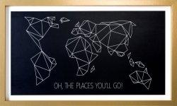 Obraz MAP 4 50X2X30