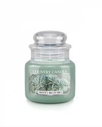 Country Candle - Frosty Branches -  Mały słoik (104g)