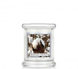 Kringle Candle - Egyptian Cotton - mini, klasyczny słoik (128g)