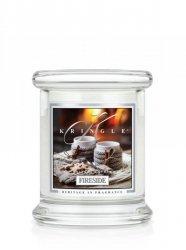 Kringle Candle - Fireside - mini, klasyczny słoik (128g)