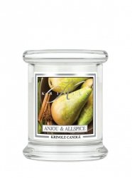 Kringle Candle - Anjou & Allspice - mini, klasyczny słoik (128g)
