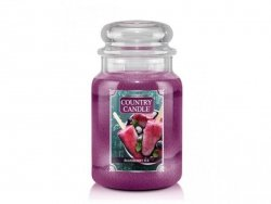 Country Candle - Blueberry Ice - Duży słoik (680g) 2 knoty