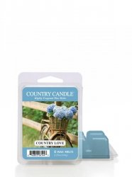 Country Candle - Country Love - Wosk zapachowy potpourri (64g)