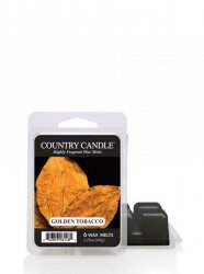 Country Candle - Golden Tobacco - Wosk zapachowy potpourri (64g)