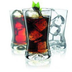 SZKLANKI SOFT DRINK X-LINE 200ML 6SZT -KRO 68-6362-0200
