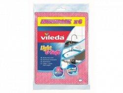 VILEDA - ŚCIERKA LIGHT & SOFT 6SZT -VIL 150539