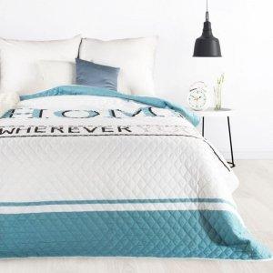 Narzuta DENNI Design 91 200X220 Biały/Niebieski