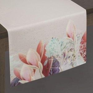Bieżnik ASTRI 35X180 Srebrny+Róż