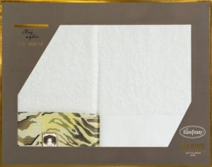 Eva Minge Komplet Ręczników CECIL 50x90 Biały Eurofirany