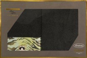 Eva Minge Komplet Ręczników CECIL 70x140 Czarny Eurofirany