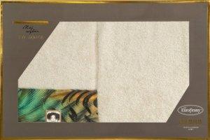 Eva Minge Komplet Ręczników COLLIN 70x140 Beżowy Eurofirany