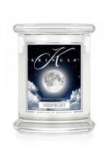 Kringle Candle - Midnight - średni, klasyczny słoik (454g) z 2 knotami