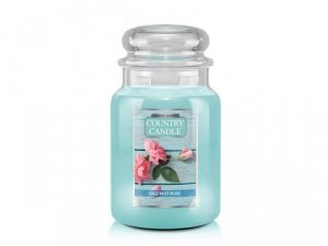 Country Candle - Salt Mist Rose - Duży słoik (680g) 2 knoty