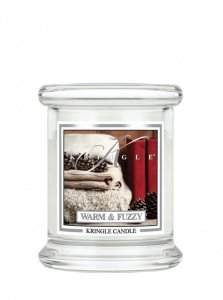Kringle Candle - Warm and Fuzzy - mini, klasyczny słoik (128g)