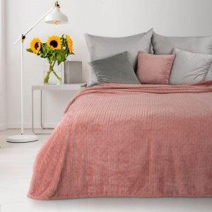 Koc CINDY4 170X210 Różowy Design 91