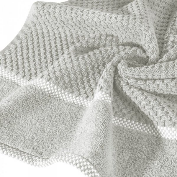 Ręcznik CALEB 50X90 Srebrny